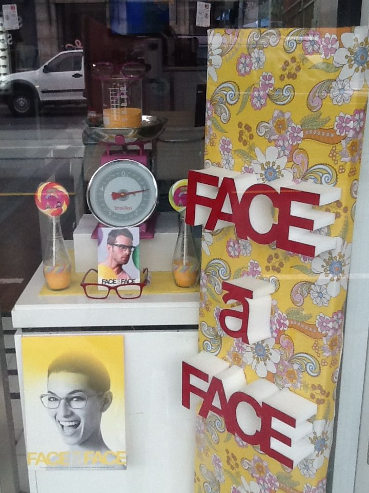 f04034bb532 Face a face window display by Through the looking glass retail window  stylist Melbourne.