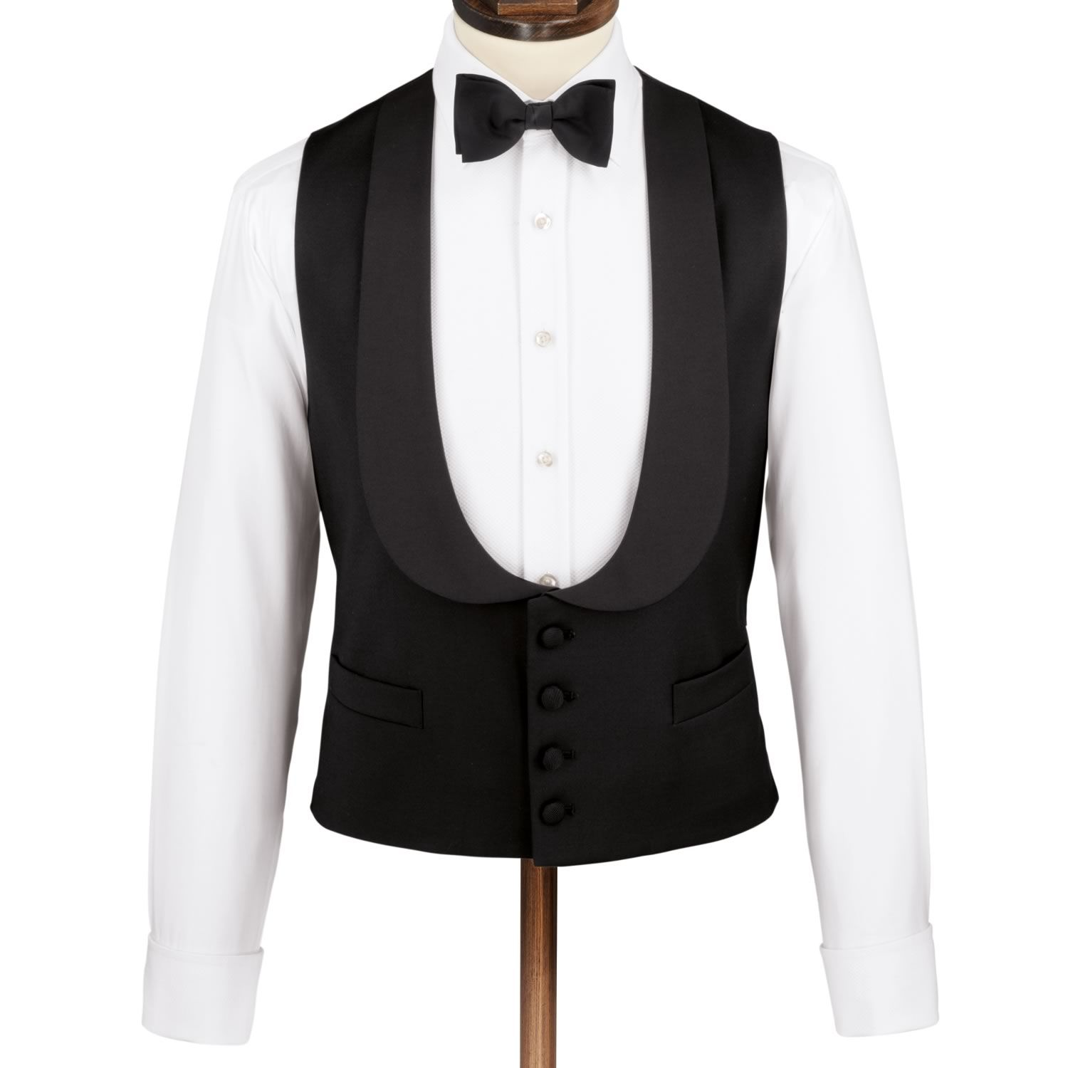 Slim fit dinner suit waistcoat   Waistcoats from Charles ...