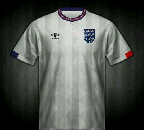 England home shirt for the 1988 European Championship.