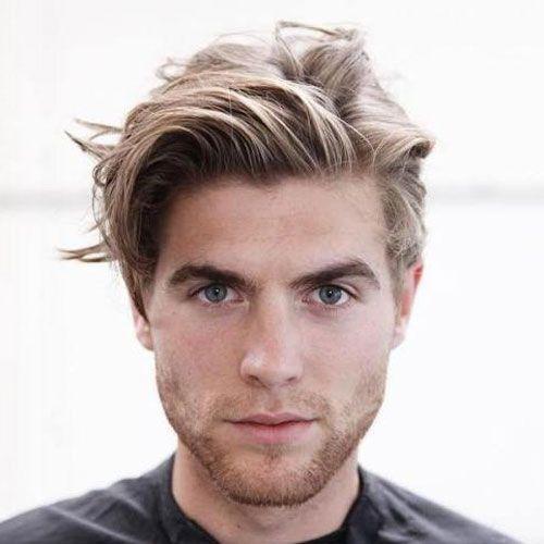 59 Best Medium Length Hairstyles For Men (2020 Styles) in 2020 | Guy haircuts long, Mens ...
