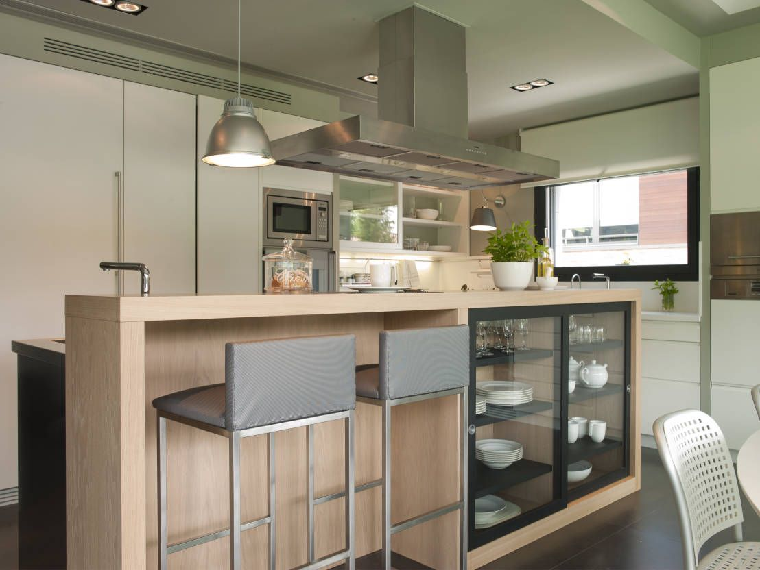 7 fant sticas ideas de barras de cocina kitchens and house - Barras de madera para cocina ...