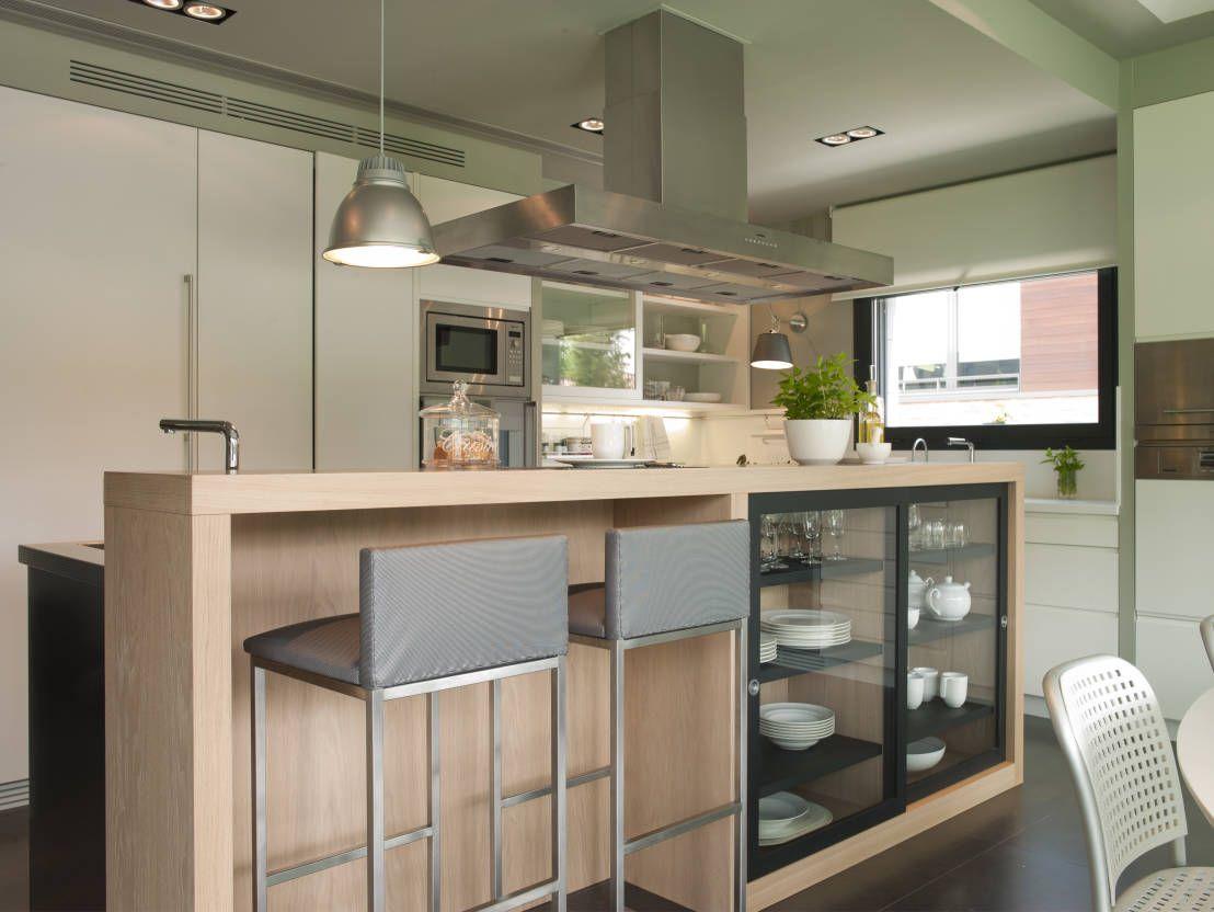 7 fantsticas ideas de barras de cocina  Cocinas  Modern