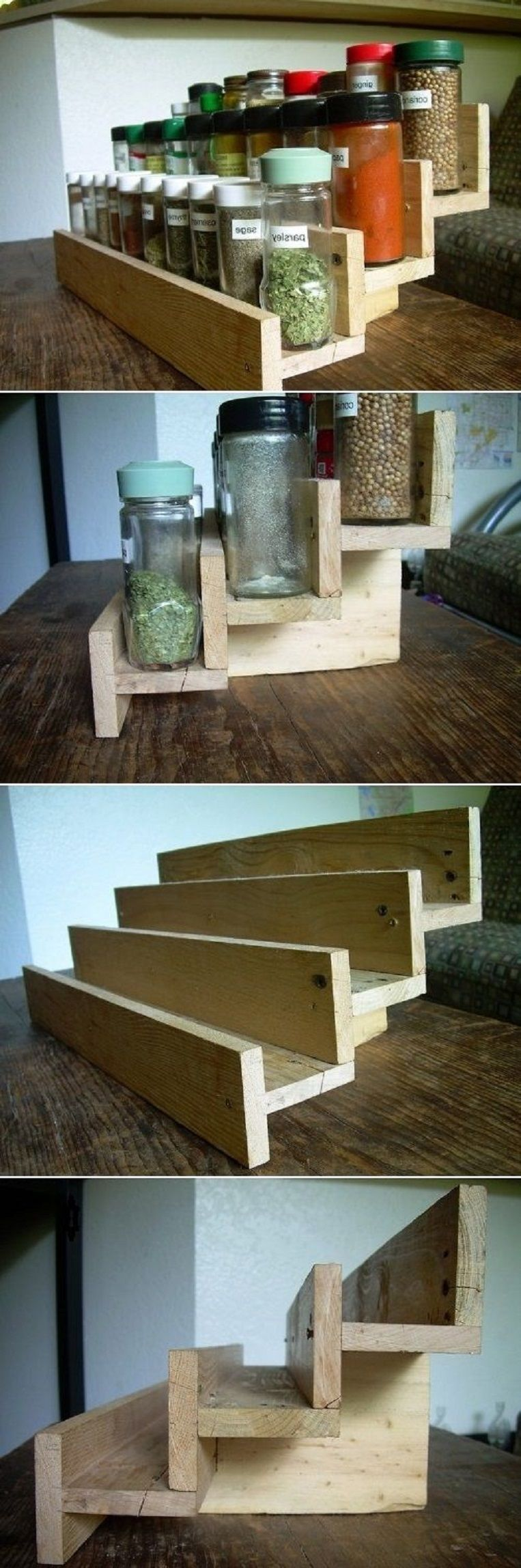 Add to the apothecary diy spice rack from a