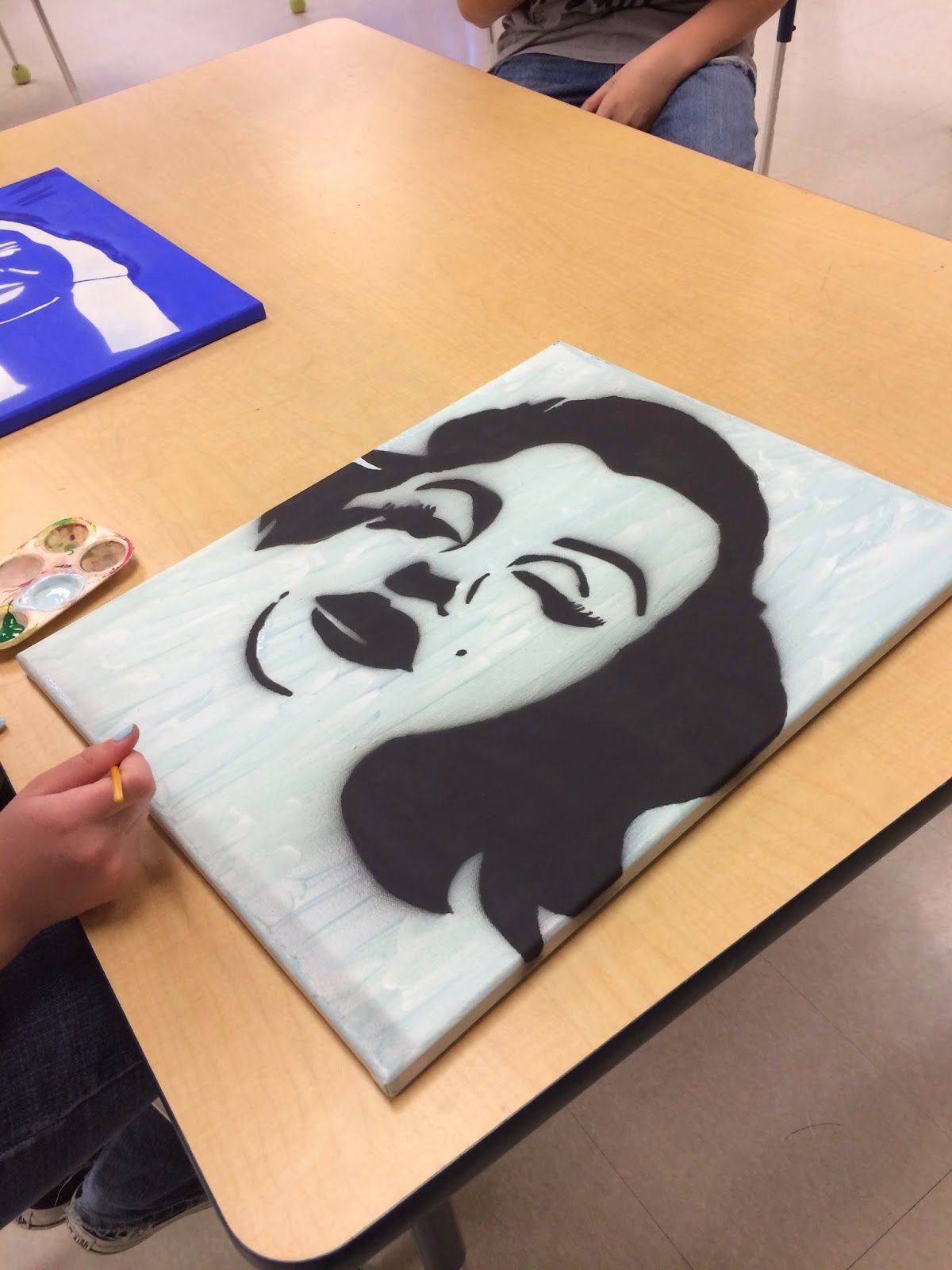 8th Grade Stencils Art Massac Graffiti Art