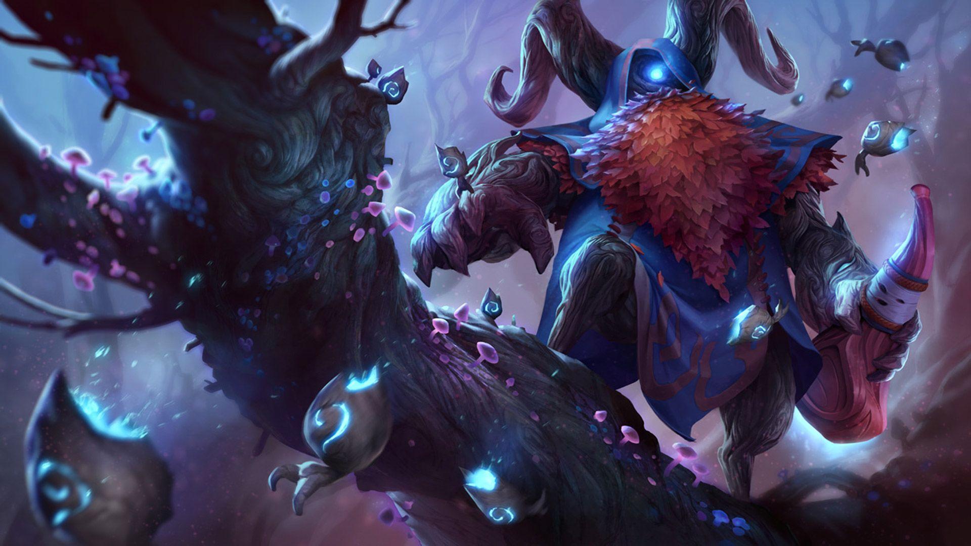 Elderwood Bard League Of Legends Wallpapers Hd Art Of Lol Bard League Of Legends League Of Legends Characters