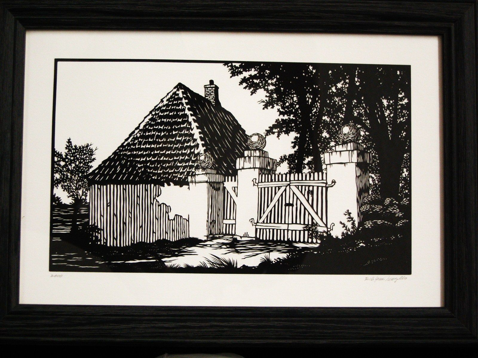 Papercutting By Rick James Marzullo.