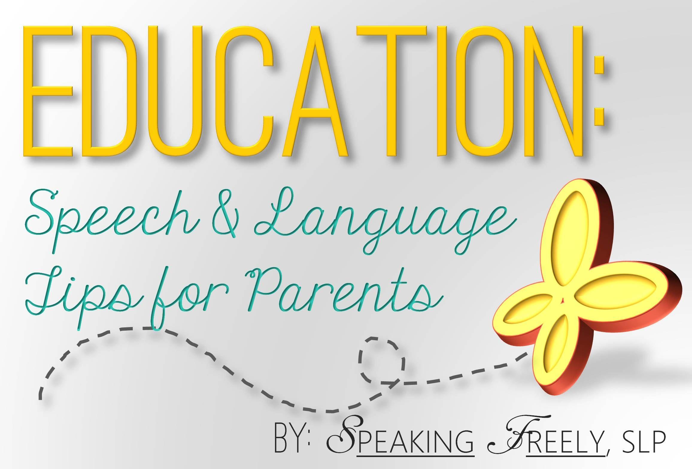 Pin By Speaking Freely Slp On Education Speech