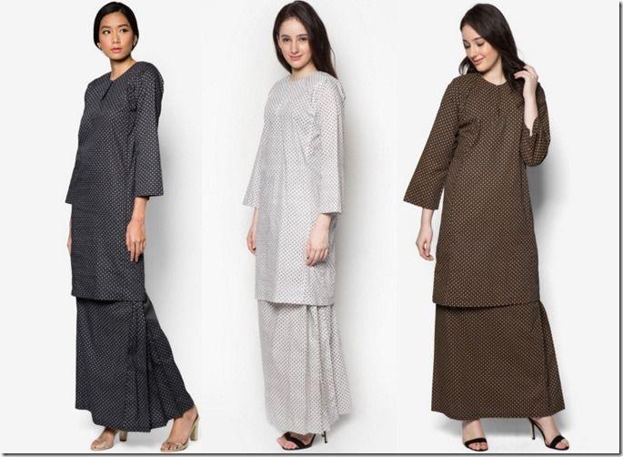 Minimalist Baju Kurung For Raya 2016