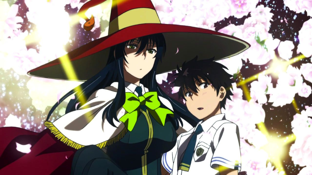 THE THIRTYFOURTH WITCHCRAFT Witch craft works, Anime