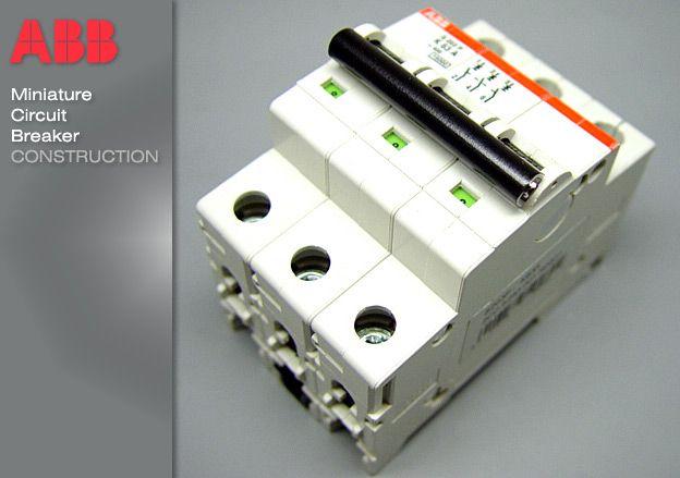 Mcb Miniature Circuit Breaker Construction Breakers Circuit