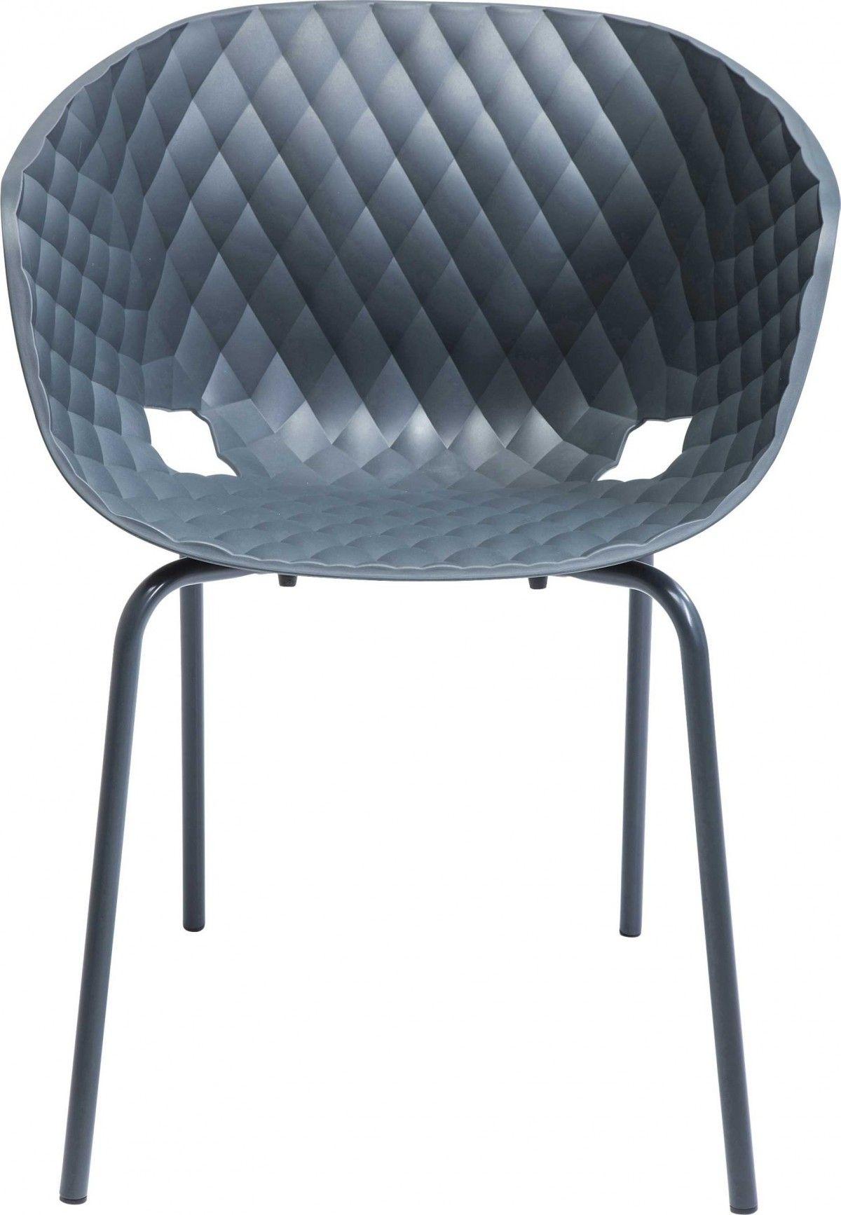 KARE Design - Stühle -Stuhl mit Armlehne Radar Bubble Anthrazit ...