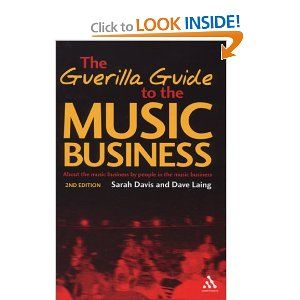 This is a great book for anyone in the music business. I am currently reading it.