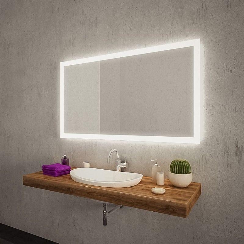 Badezimmerspiegel Mit Beleuchtung Mit Bildern Badspiegel Led