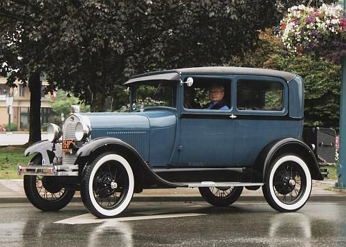 1928 Ford Model A Tudor Sedan Blue My Baby I Just Need To Fix Here Up Look Like This One