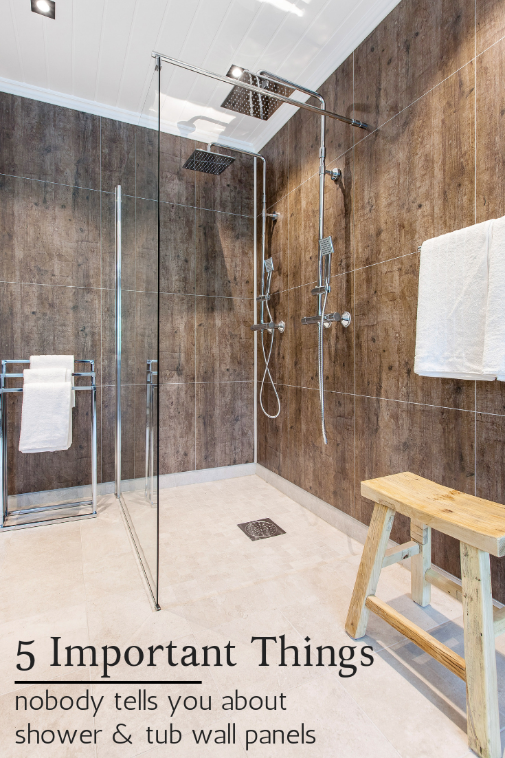 5 Things Nobody Tells You About Shower Tub Wall Panels Cheap Bathroom Remodel Small Bathroom Remodel Bathrooms Remodel