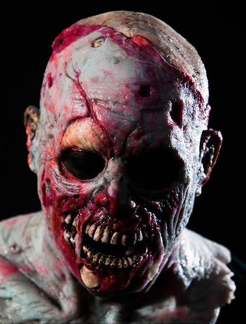 Halloween Mask Silicone Zombie