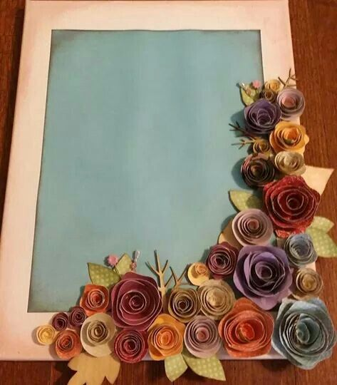 Roses scrapbook page