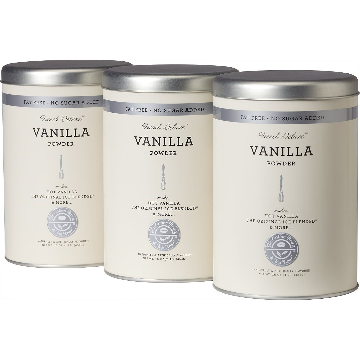 The Coffee Bean Tea Leaf Have By Far The Best Vanilla Lattes Trust Me Snag This 3pack On Amazon Tea Leaves Coffee Beans Blended Drinks