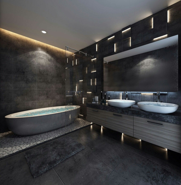 Bathroom Modern  Bathroom Designs  Pinterest  Modern Bathroom Interesting Exclusive Bathrooms Designs Decorating Design