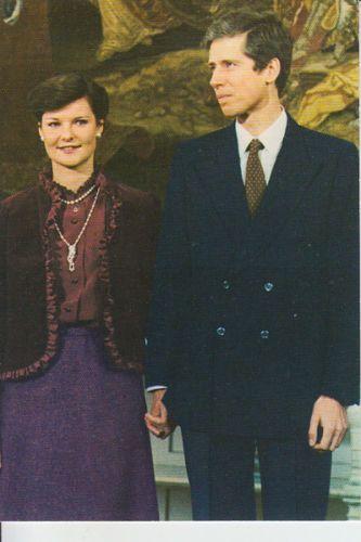 Royalty Princess Margaretha Of Luxembourg Prince Nicolas Of Liechtenstein Verloving