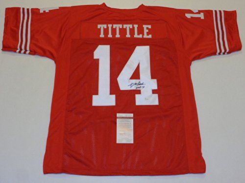 san francisco 8538e 680d0 Y.A. Tittle New York Giants Authentic Jerseys | Cool NY ...