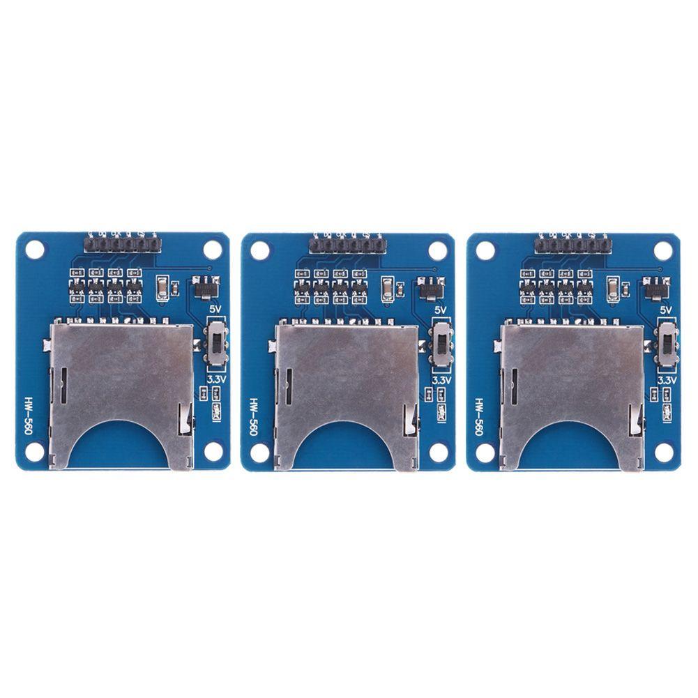 pour Arduino 3.3v//5v Cartes sd module sd card reader module spi