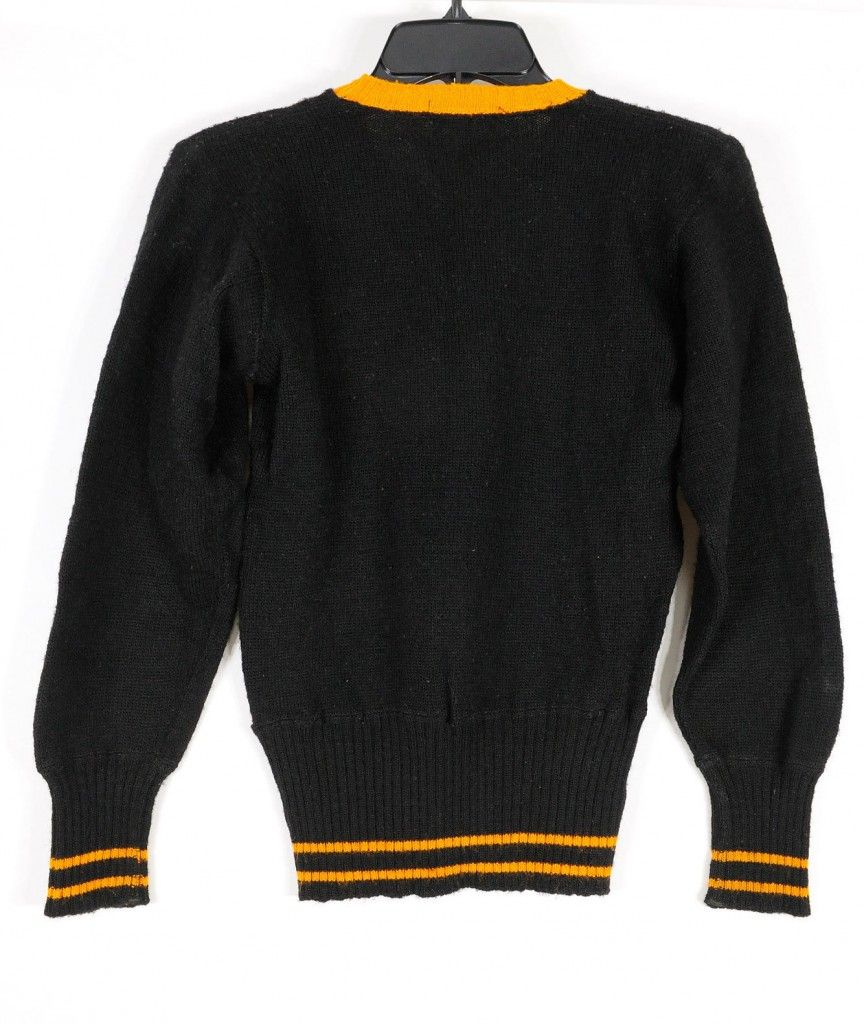 Vintage Harley Davidson Sweater 1930s Back Mens Vintage Clothing
