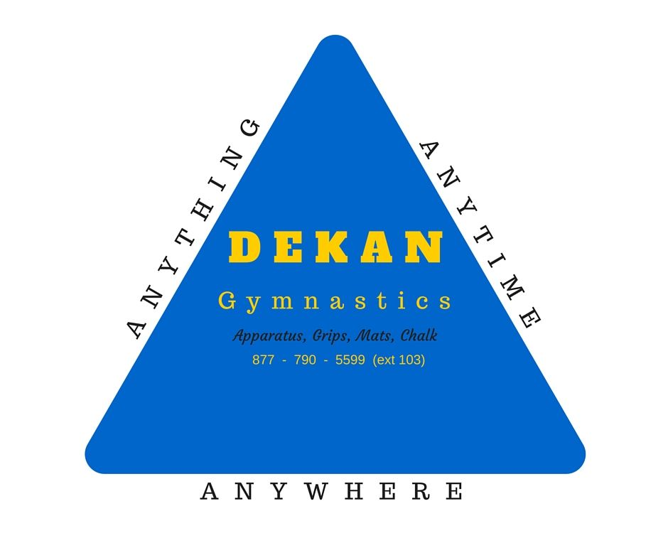 Dekan Is Your 1 Stop Shop For Everything Gymnastics Gymnastics Pie Chart Chalk