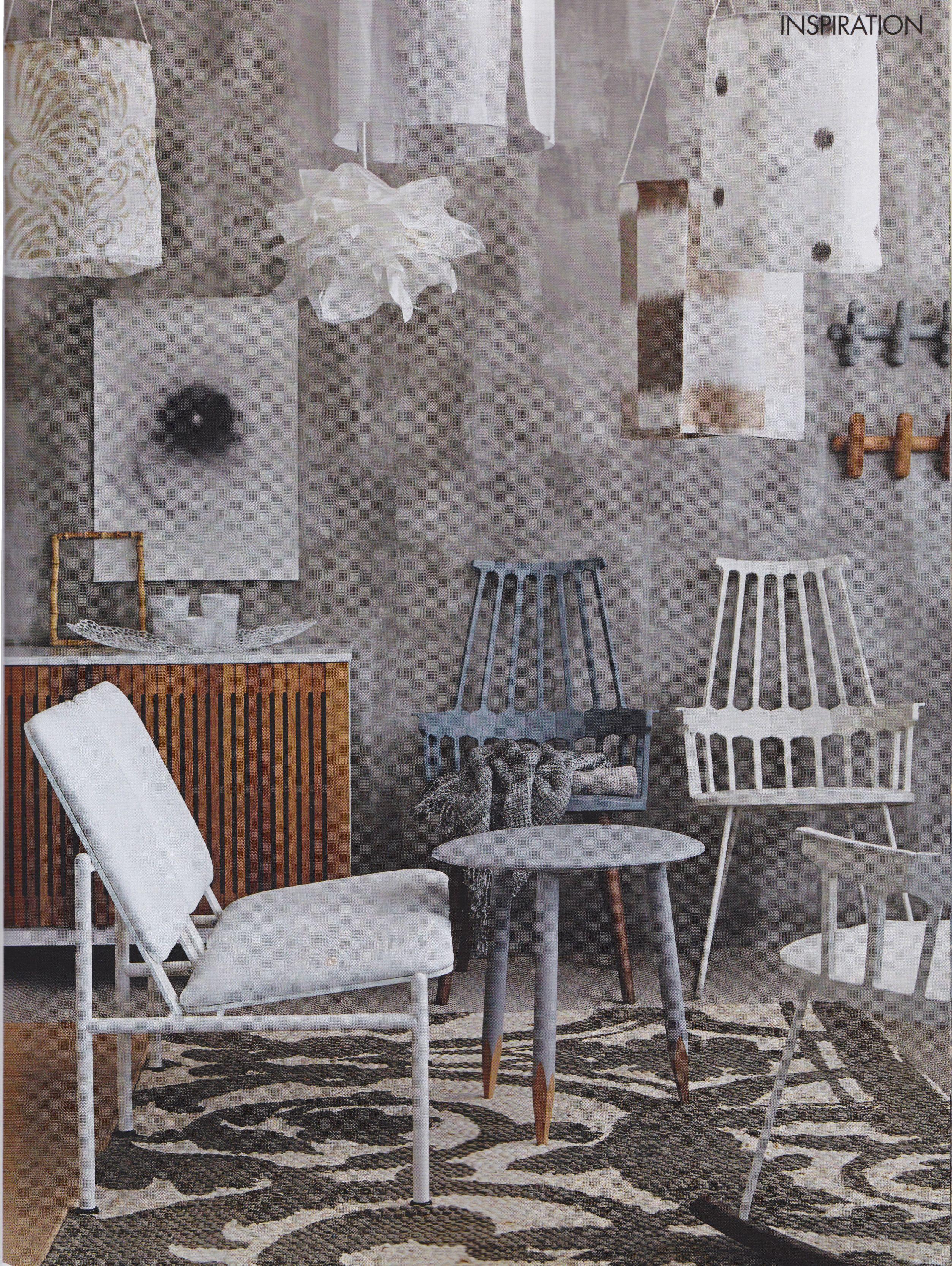 Möbelverkets MV15-skåp i inspirationsbild, maj-utgåvan av ELLE Decoration.