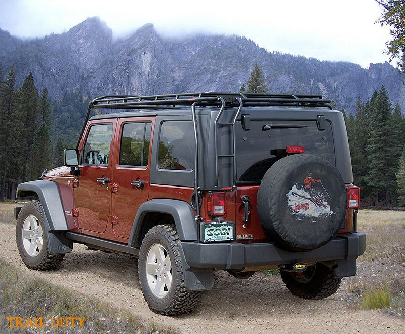 Gobi Jeep Wrangler JK Stealth Safari Roof Rack - JKowners.com : Jeep Wrangler JK Forum