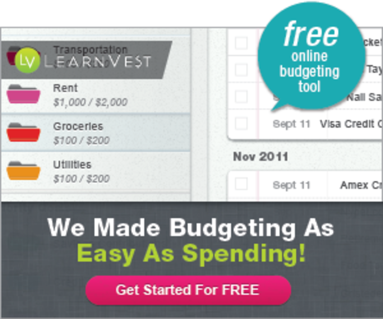 online budgeting free