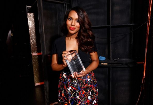 Kerry Washington attends Women In Film 2014 Crystal + Lucy Awards presented by MaxMara, BMW, Perrier-Jouet and South Coast Plaza held at the Hyatt Regency Century Plaza on June 11, 2014 in Los Angeles, California.