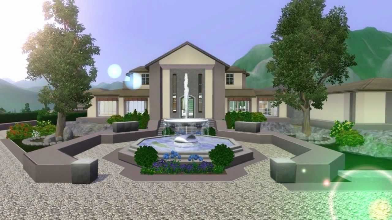 Etonnant The Sims 3 Mansion Design (Ranch) No Custom Content