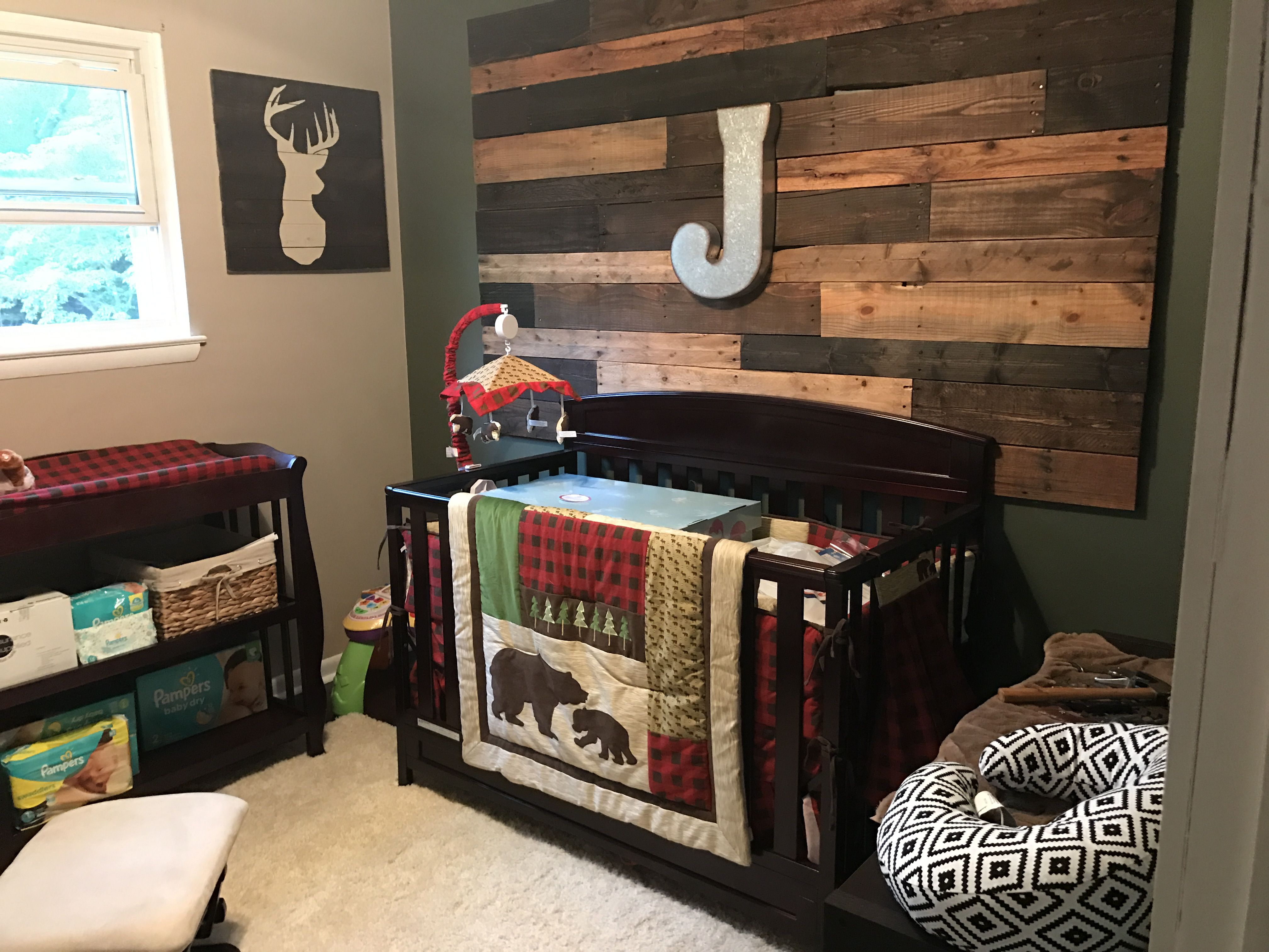 and little arrow products co cribs boy man baby crib plaid bedding dbc