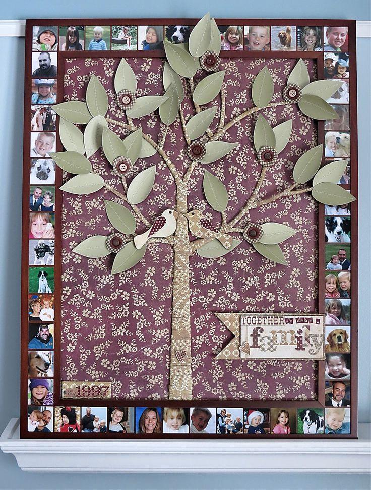 Family Tree Design Ideas | Family Tree Idea #FamilyTree #LDSFamilySearch