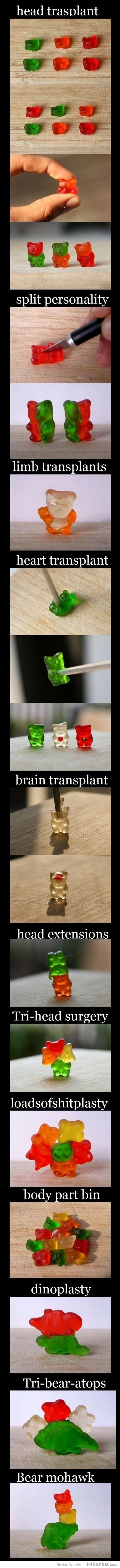 when im bored like hell i play with gummy bears