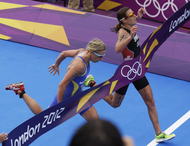 Sur le fil... Olympique, Triathlon