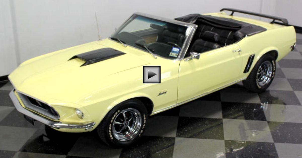 Beautiful 1969 Ford Mustang Convertible 351 V8 Mustang Convertible Ford Mustang Convertible Ford Mustang