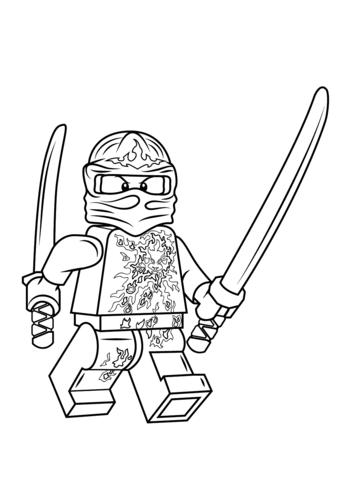 Coloring Book Ninjago : Lego ninjago kai nrg kolorowanka pinterest kai