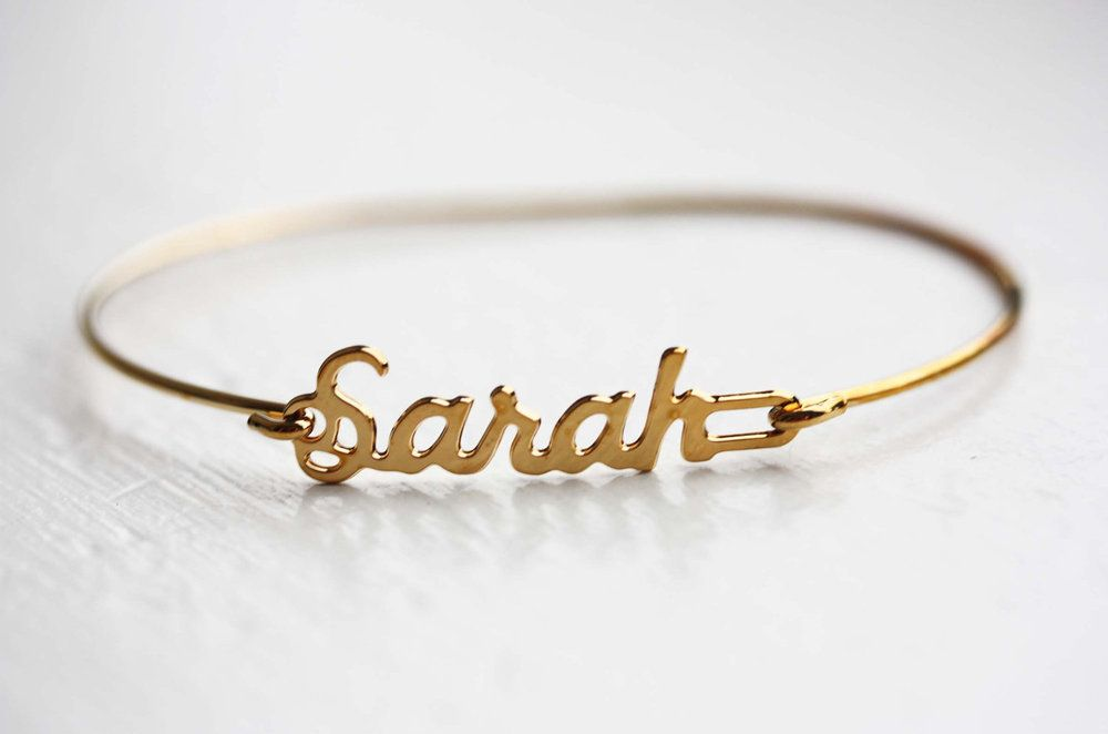 c6f678c79e30b Vintage Name Bracelet | all I want is everything | Name bracelet ...