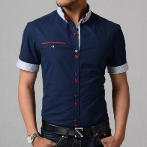 d6b91ab3c мужские рубашки с коротким рукавом | Clothes classic в 2019 г ...