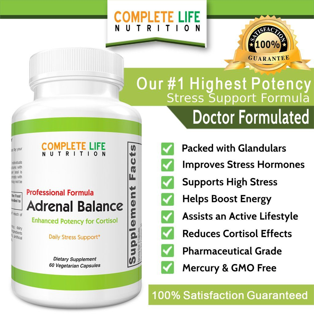 45++ Supplements for cortisol support ideas