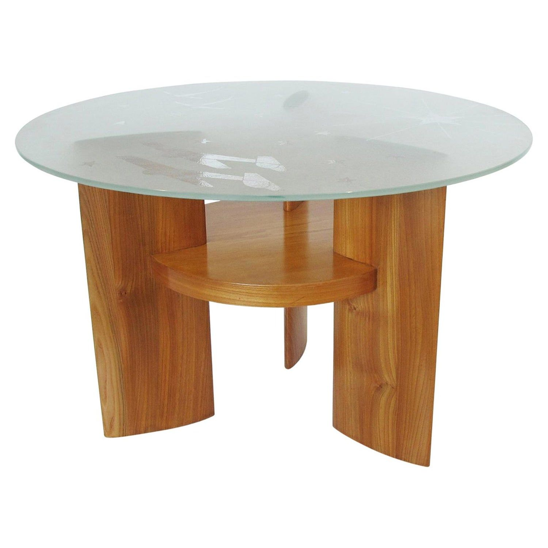 Art Deco Coffee Table Saint Gobain Glass Top Aviation Decor In 2020 Aviation Decor Art Deco Glass Art Deco Coffee Table [ 1500 x 1500 Pixel ]