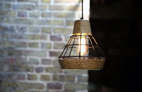 Work lamp by liqui design work lamp is inspired by lighting used on