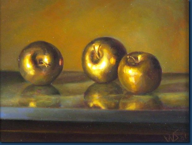 This Image Represents The 3 Golden Apples That Hippomenes Dropped While Racing Atalanta Golden Apple Greek Myths Gold Apple