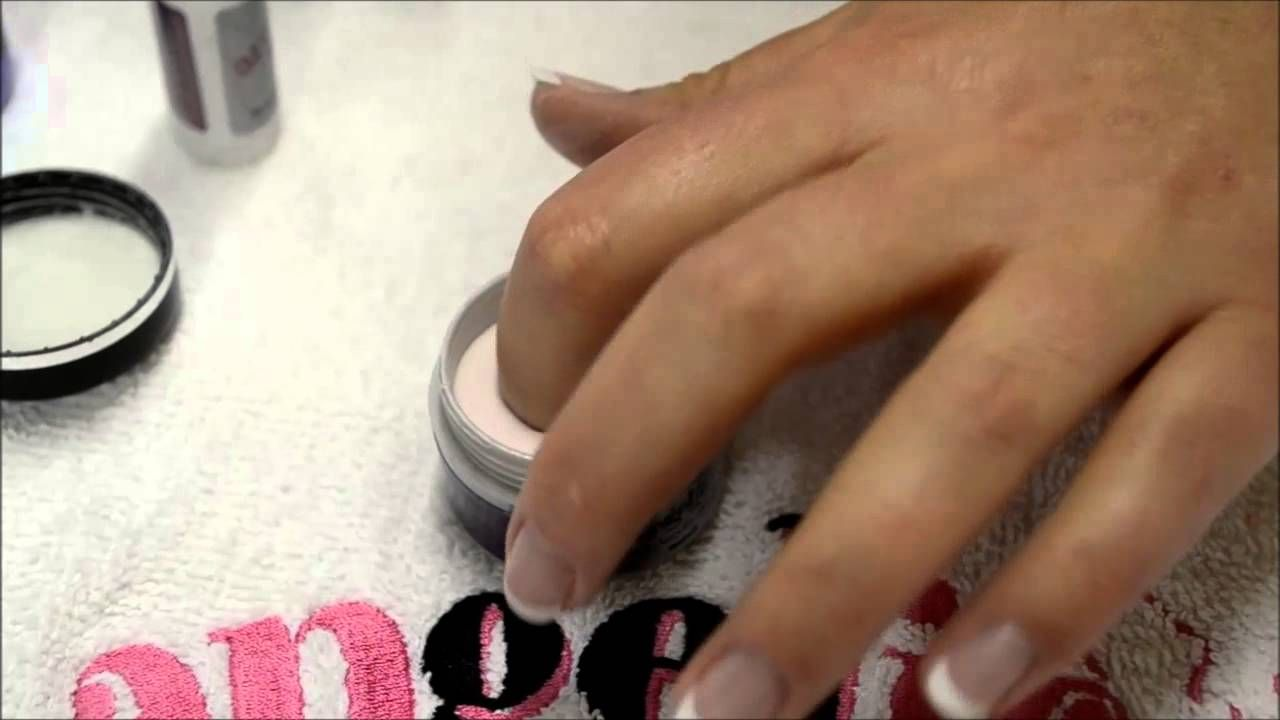 Step By Tutorial Using Dip Acrylic Method For Angelic Nails Products Www Angelicnails