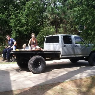 Flatbed Obs With Images Truck Flatbeds Ford Trucks Welding