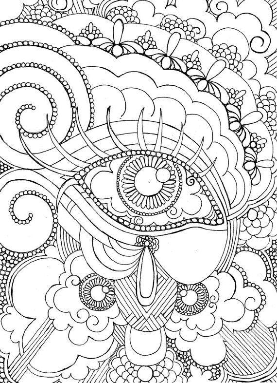 196 Dibujos de Mandalas para Colorear fáciles y difíciles | FICHAS ...