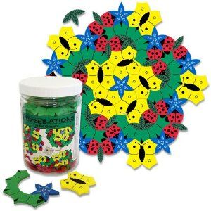 magnetic tessellation toy
