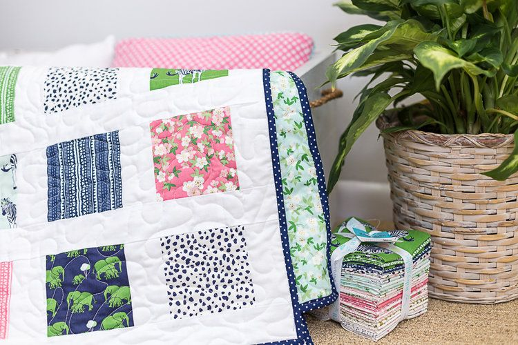 Beginner Charm Square Quilt Pattern